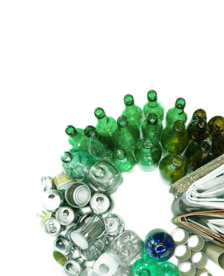 Komunalinių atliekų rūšiavimas ir perdirbimas